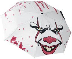 Deštník Pennywise, kterého barva se mění
