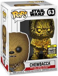 Vinylová figurka č. 63 Star Wars Celebration 2019 - Chewbacca (Chrome)