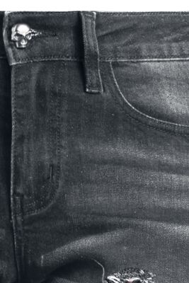 Džíny s podšitými otvory