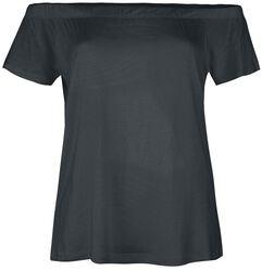 Tričko s odhalenými rameny