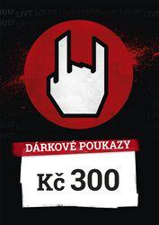 Nákupní a dárkové poukazy 300 CZK