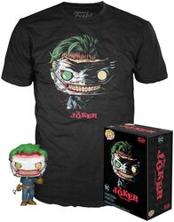 The Joker (DotF) (GITD) T-Shirt plus Funko - POP! & Tee