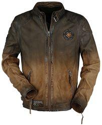 acfe3c82127 Oblečení Bundy kožené bundy. A Hard Road