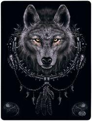 Flísová deka Wolf Dreams