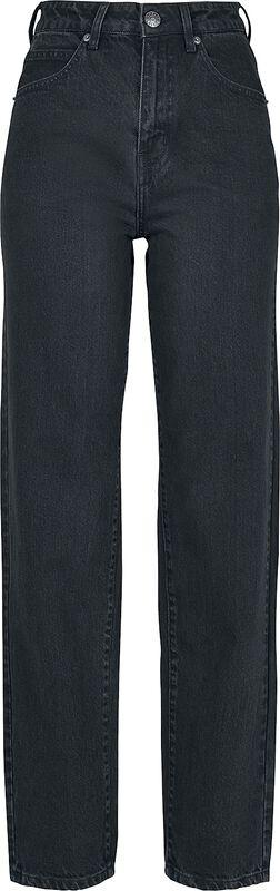 Dámské rovné džíny s vysokým pasem