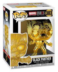 Vinylová figurka č. 383 Marvel Studios 10 - Black Panther (Chrome)