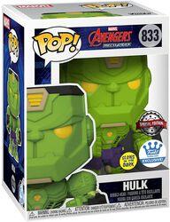 Vinylová figurka č. 833 Mech Hulk (Funko Shop Europe) (svítí v tmě)