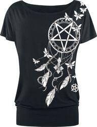 Pentagram and Dreamcatcher T-shirt