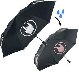 Deštník, který mění barvu