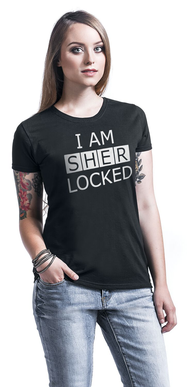 I Am Sherlocked. Tričko 60e3c9d066
