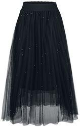 Síťovinová sukně s kamínky Sophia