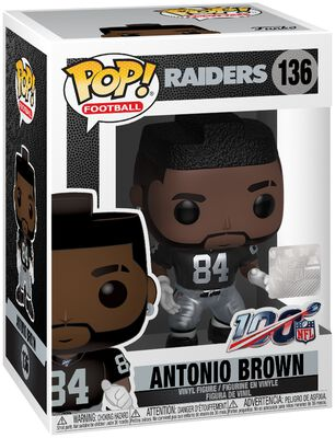 Vinylová figurka č. 136 Raiders - Antonio Brown