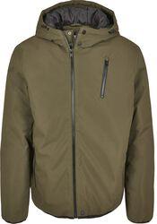 Sportovní bunda s kapucí a zapínáním na zip