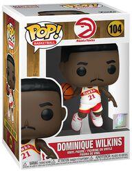 Vinylová figurka č. 104 Atlanta Hawks - Dominique Wilkins (Home Jersey)