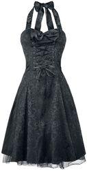 Dlouhé brokátové šaty Gothic Banshee