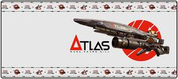Podložka po myš Atlas 3