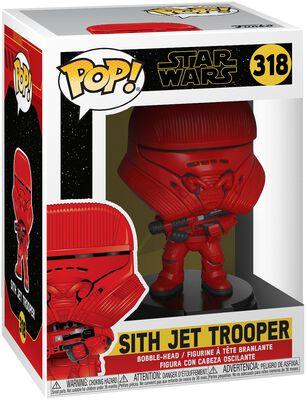 Vinylová figurka č. 318 Episode 9 - The Rise of Skywalker - Sith Jet Trooper