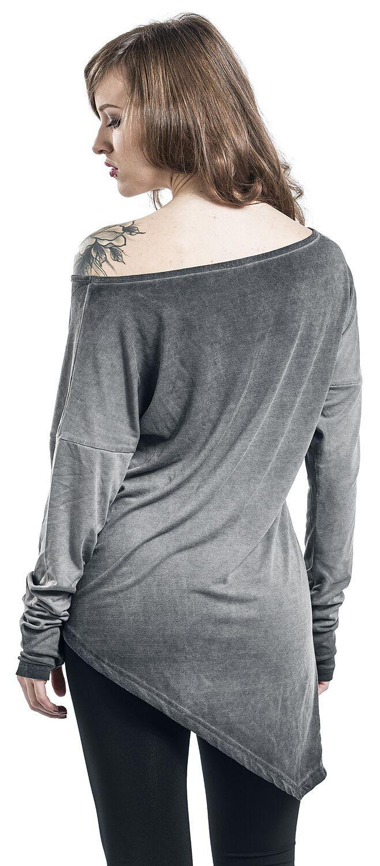 27f2ab8d749 Asymetrické tričko s dlouhými rukávy