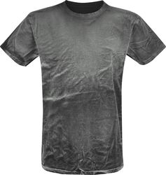 Spray Washed Black Shirt