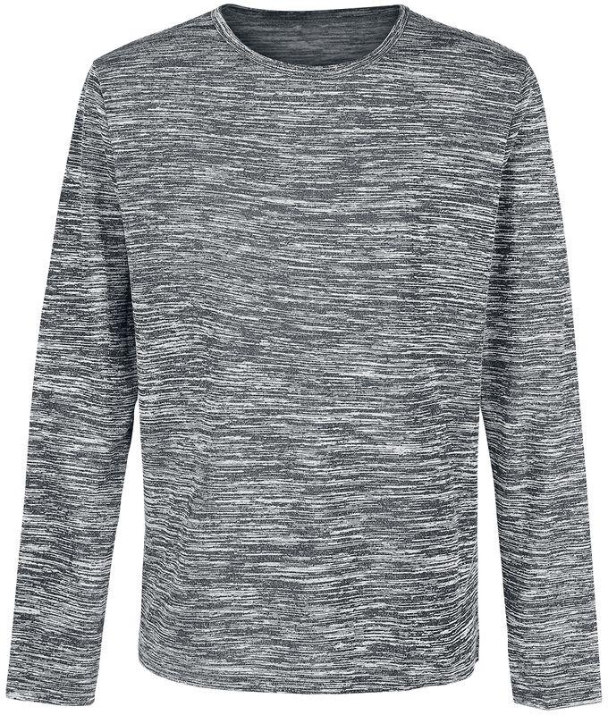 Hrubý žíhaný svetr