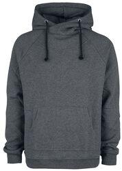 Šedý svetr s kapucí