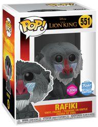 Vinylová figurka č. 551 Rafiki (Flocked) (Funko Shop Europe)