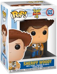 Vinylová figurka č. 522 Sheriff Woody 4