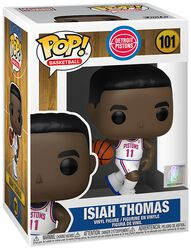 Vinylová figurka č. 101 Detroit Pistons - Isiah Thomas (Home Jersey)