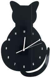 Acryl - nástěnné hodiny Cat