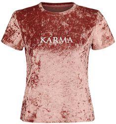 Sametové tričko Karma