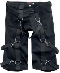 Krátké denimové kalhoty