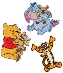 Winnie the Pooh Sada nášivek