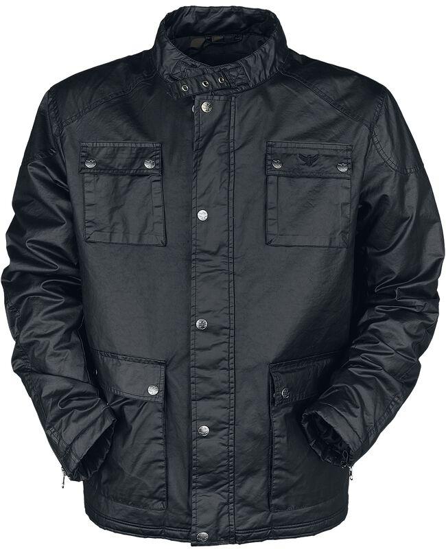 Černá přechodní bunda