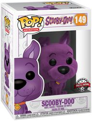Scooby-Doo (Purple Flocked) Vinyl Figure 149