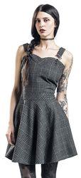 Kostkované šaty Miss Morbid