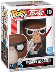 Vinylová figurka č. 19 Fantastik Plastik - Monkey Assassin (Funko Shop Europe)
