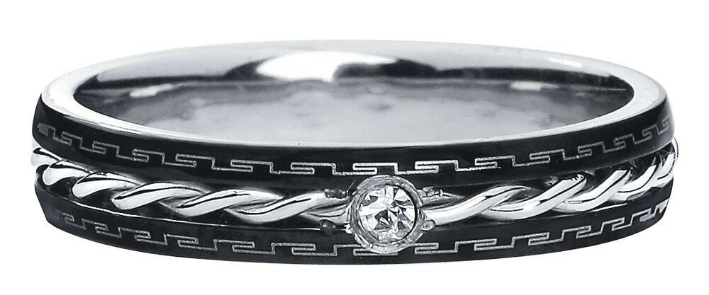 Jemný ocelový prstýnek
