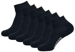 Balení 6 párů ponožek do tenisek