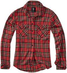 Károvaná flanelová košile Amy