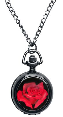 Kapesní hodinky Red Rose
