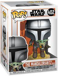 Vinylová figurka č. 402 The Mandalorian - The Mandalorian With The Child