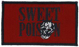 Červená nášivka Sweet Poison