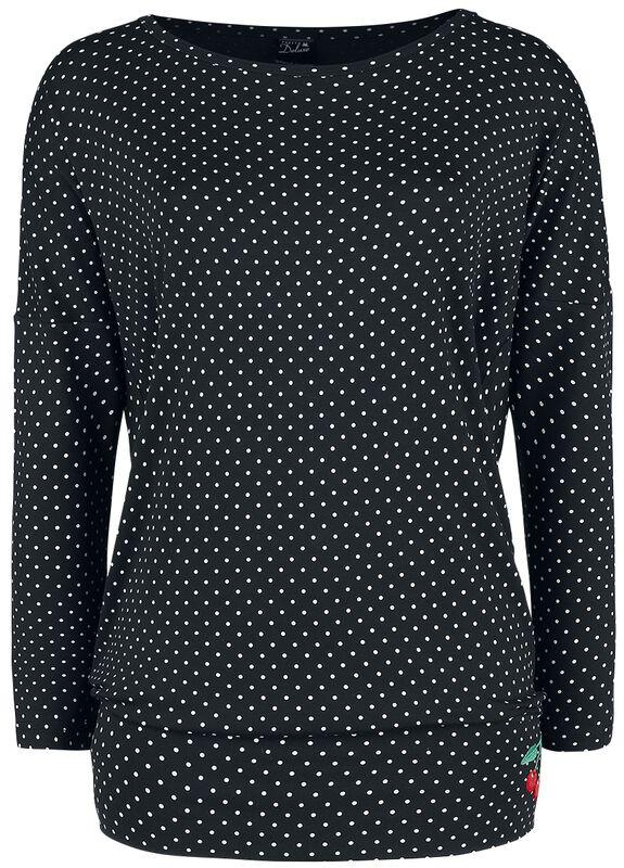 Volné tričko s dlouhými rukávy Little Dots