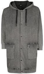 Tepláková bunda s kapucí