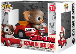 Vinylová figurka č. 71 Gizmo in Red Car POP Rides
