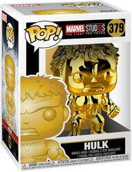 Vinylová figurka č. 379 Marvel Studios 10 - Hulk (Chrome)