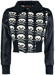 Skull Biker Jacket