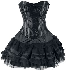 Lolita Mini Corset Dress