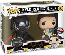 Balení 2 ks vinylových figurek The Rise of Skywalker - Kylo Ren (Supreme Leader) & Rey