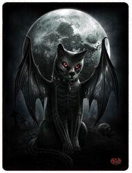 Flísová deka Vamp Cat
